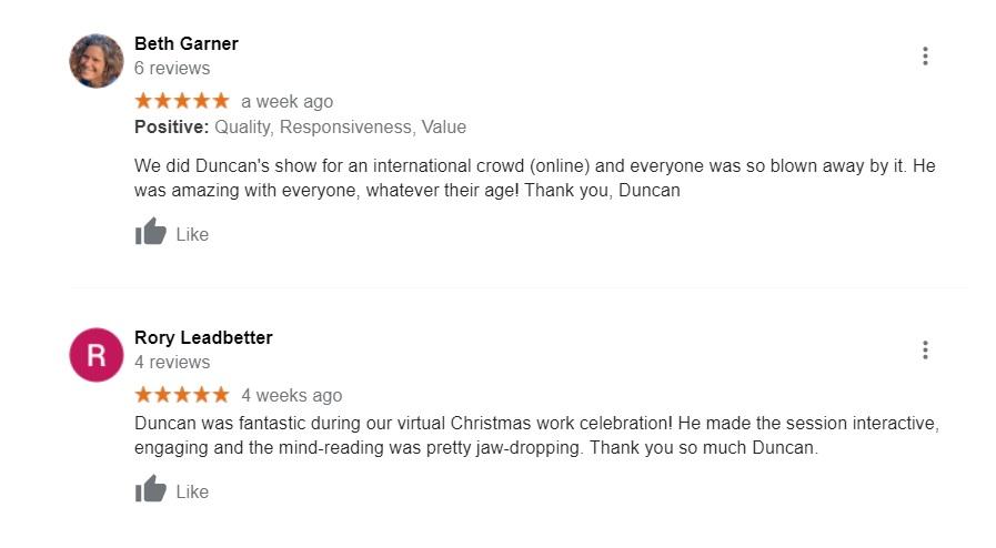 Virtual magician reviews
